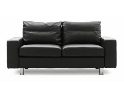 Ekornes Stressless E-200 Two Seat Loveseat - Cocoon Fabric Custom Order