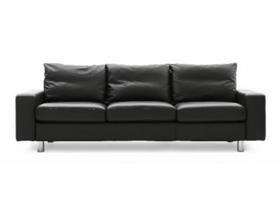 Ekornes Stressless E-200 Three Seat Sofa - Batick Leather Custom Order