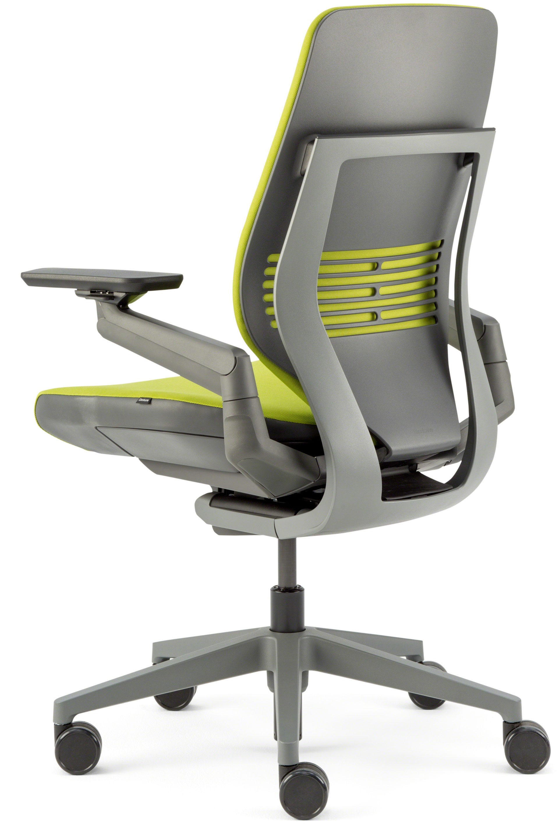 Genial ... Steelcase Gesture Office Chair With Shell Back Side Dark/Dark Wasabi  Cogent Connect ...