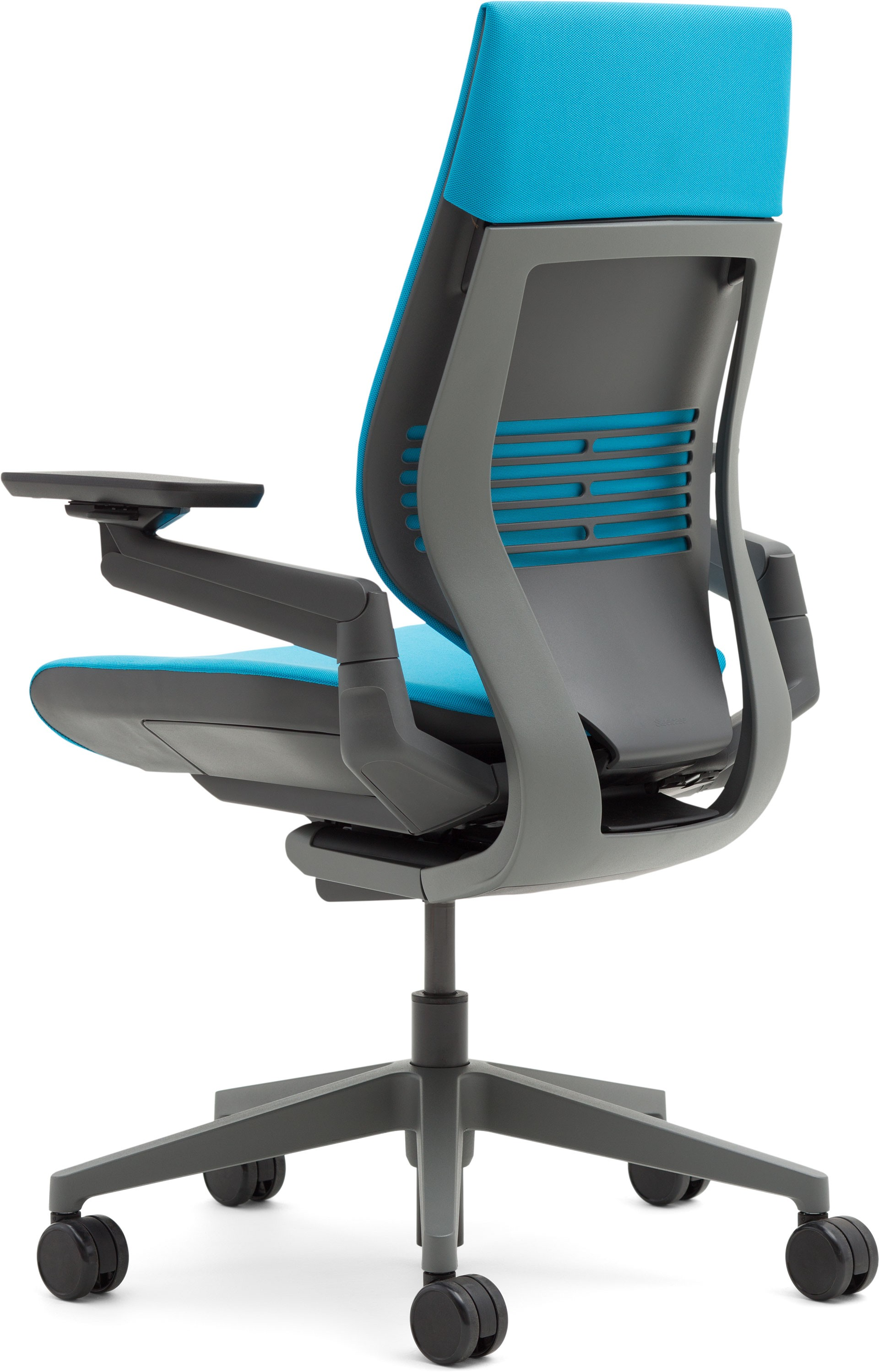 Superieur ... Steelcase Gesture Office Chair With Wrapped Back Side Dark/Dark Blue  Jay Cogent Connect ...