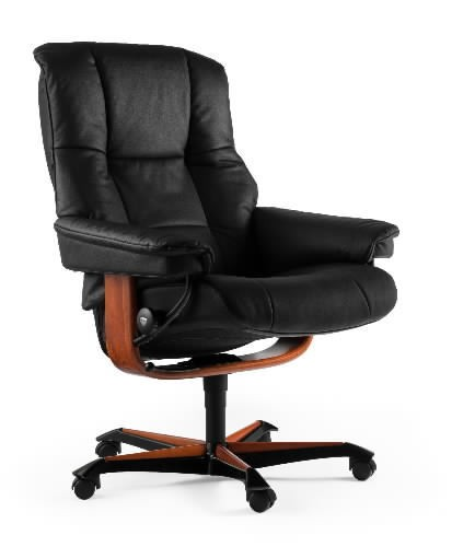 ekornes stressless mayfair office chair. Black Bedroom Furniture Sets. Home Design Ideas