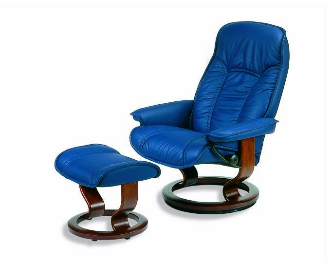 sc 1 st  Valencia Seating & Ekornes Stressless Senator / Governor Recliner with Matching Ottoman islam-shia.org