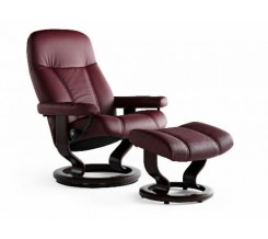 Ekornes Stressless Consul Recliner with Ottoman