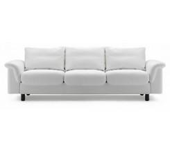 Ekornes Stressless E-300 Three Seat Sofa - Batick Leather Custom Order