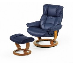 Ekornes Stressless Kensington Recliner with Ottoman