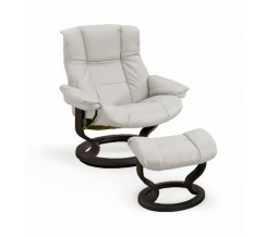 Ekornes Stressless Mayfair Recliner with Ottoman
