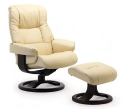 Fjords 855 Loen Recliner with Ottoman