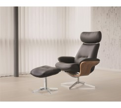 Fjords Riva Recliner with Ottoman