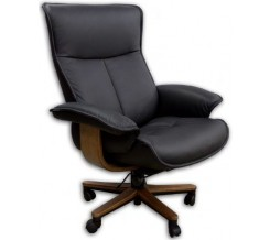 Fjords Senator Soho Leather Office Chair