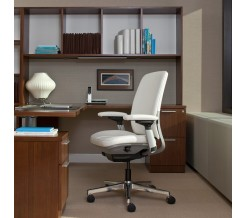 Steelcase Amia Chair with Leather Design Option