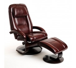 Oslo Collection Bergen 52 Recliner with Ottoman