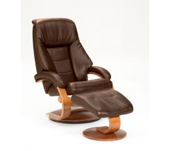 Oslo Collection Mandal 58 Recliner with Ottoman