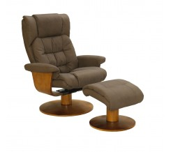 Oslo Collection Vinci Recliner with Ottoman