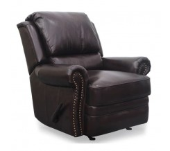 Barcalounger Regency II Rocker Recliner in Double Fudge